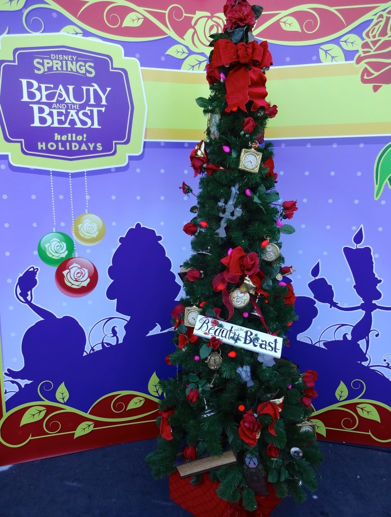 Beauty and the Beast Themed Christmas Tree