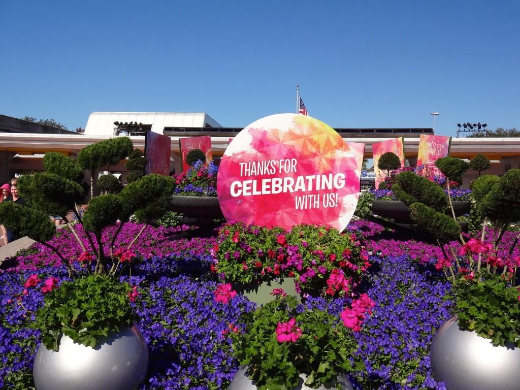 A Sea of Sensational Color at Epcot Festival of the Arts