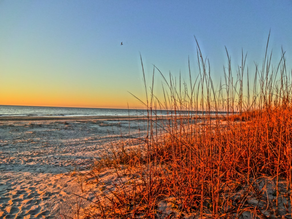 Sunrise Over the Sand and Surf at Marriott's SurfWatch on Hilton Head Island