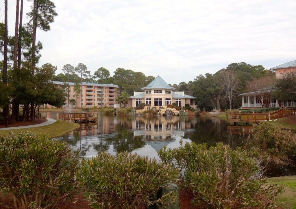Lagoon at Marriott SurfWatch Resort on Hilton Head Island