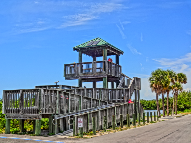 "Observation Tower at J. N. ""Ding"" Darling National Wildlife Refuge"