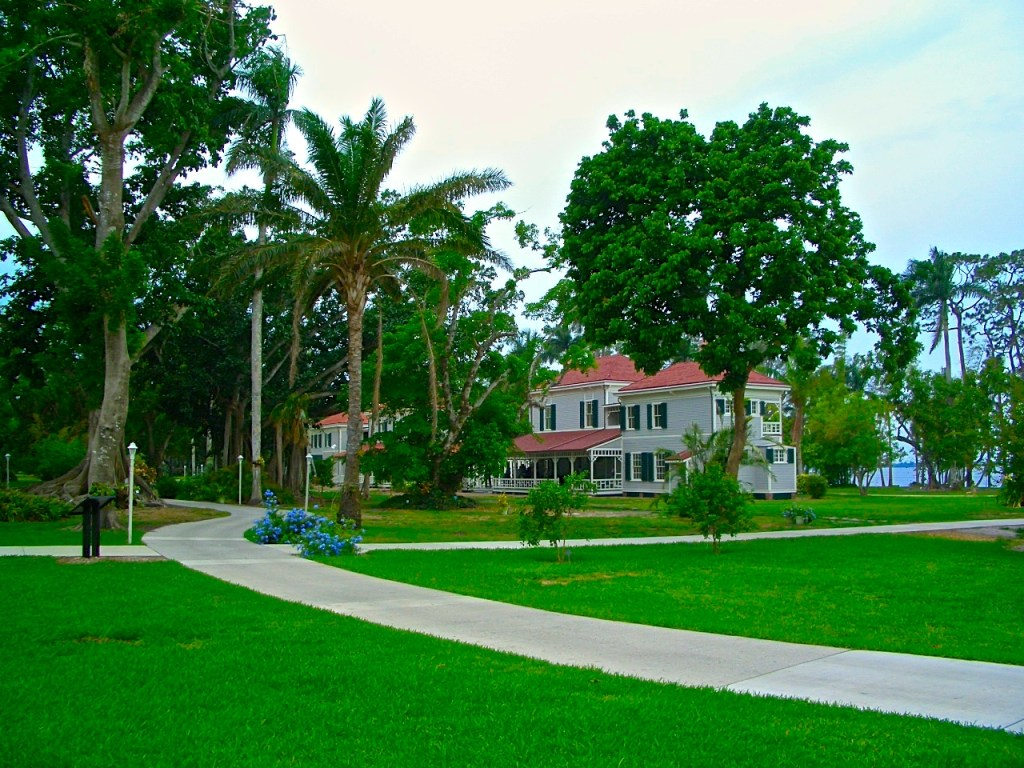Historic Edison & Ford Winter Estate and Gardens in Ft Myers Florida