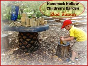 Hammock Hollow Children's Garden at Bok Tower Botanical Gardens