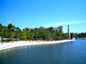 Sandy Beach Area at Grande Vista in Orlando