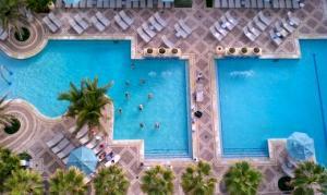 Early Morning Aerobics at Oceana Palms