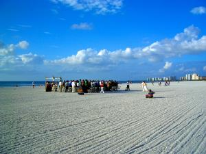 Beach Wedding on Marco Island