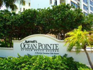 Marriott Ocean Pointe at Palm Beach Shores Florida