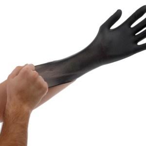 Black Lightning Gloves, large, pack of 100