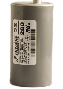Capacitor HPS 1000W/Dry 52 MFD/280 VAC MIN