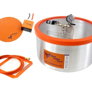 7 Gallon Vacuum Degassing Chamber with Heat Pad
