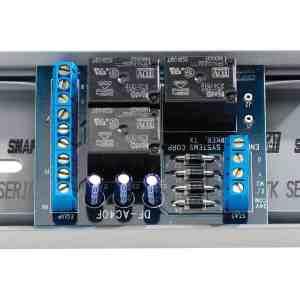 Anden Isolation relay, 24 volt, 3 SPDT card