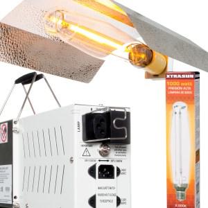 Xtrasun 1000 watt HPS Kit w/ Wing Reflector
