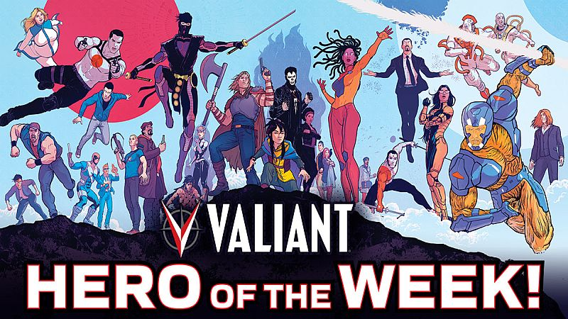 valiant hero of the week header