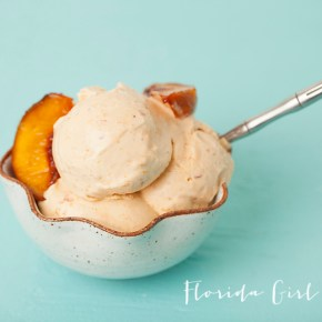peaches and cream ice cream, peaches, Georgia peaches, Georgia on my mind