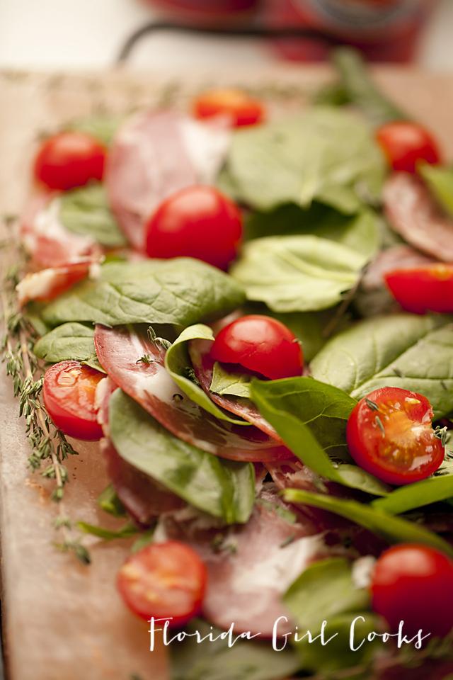 salt block salad, salt block, salad, cooking with a salt block, easy entertaining, healthy eating, dinner, lunch