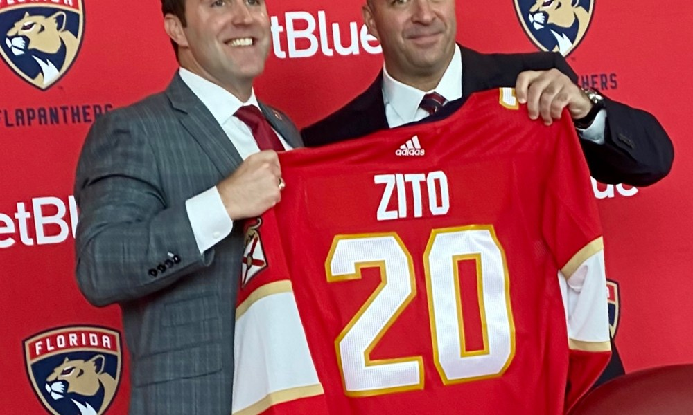Bill florida panthers zito