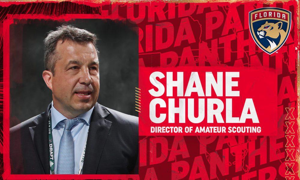 Shane Churla Florida Panthers