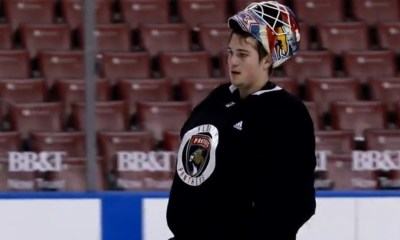 Florida Panthers goalie Bobrovsky