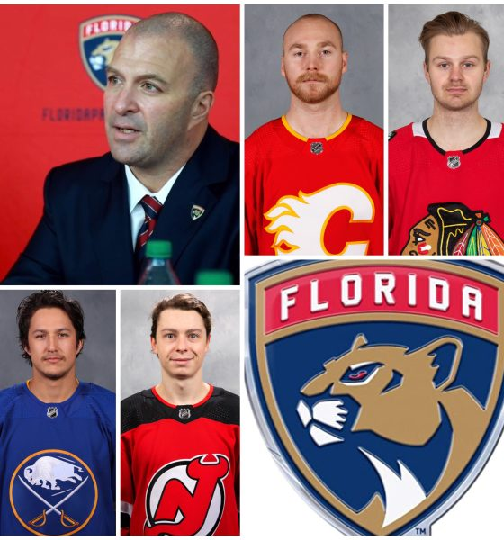 NHL Florida Panthers trade