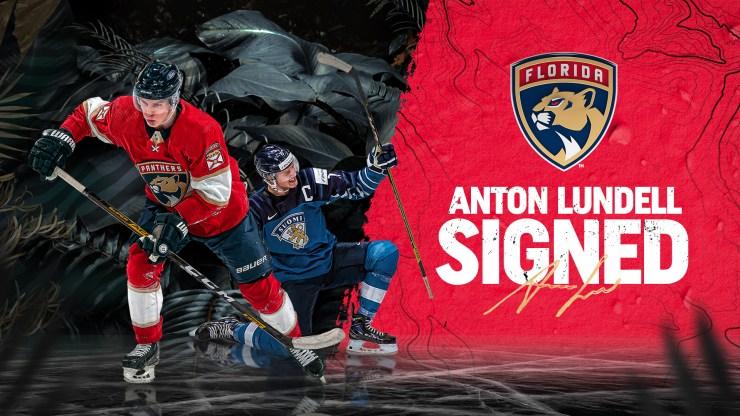 Florida Anton Lundell Panthers