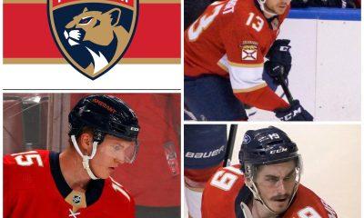 Florida Panthers third line