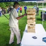 Caddyshack Charity Golf Tournament Bill Murray JENGA