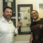 John Phillips and Client Eryk Anders