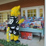 Jaxson DeVille Celebrates Toys for Tots