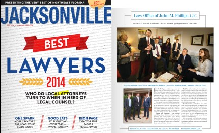 Best Lawyers Jacksonville Magazine John Phillips
