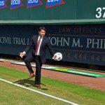 Attorney John Phillips Kicks it up on the Soccer Field