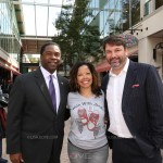 John Phillips, Mayor Alvin Brown and Lucia McBath at Jordan Davis Day