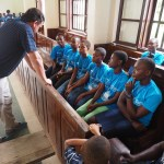 Peace Jam Ghana 2016: John Phillips Coaching Students