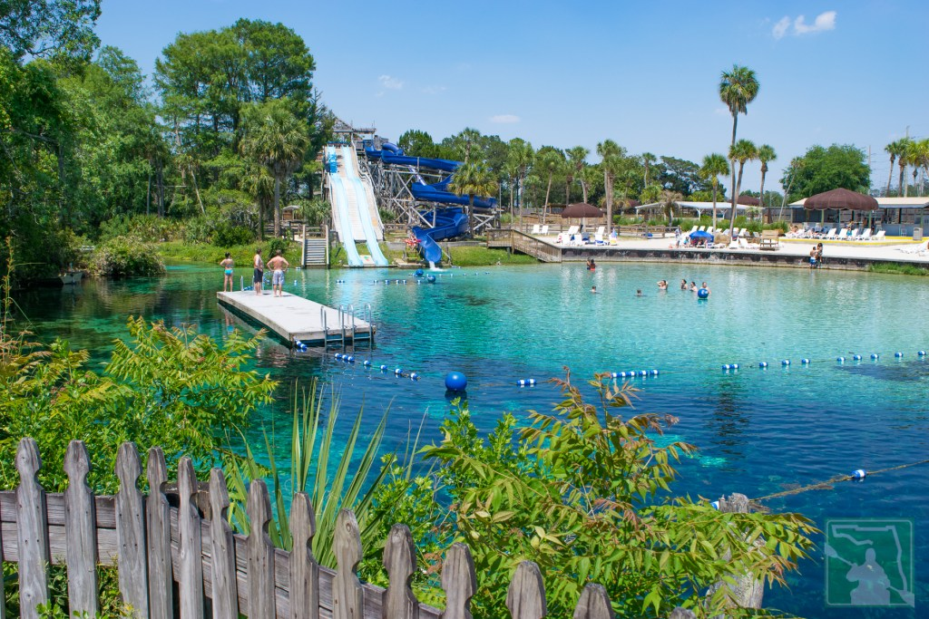 Florida's Only Spring-Fed Water Park