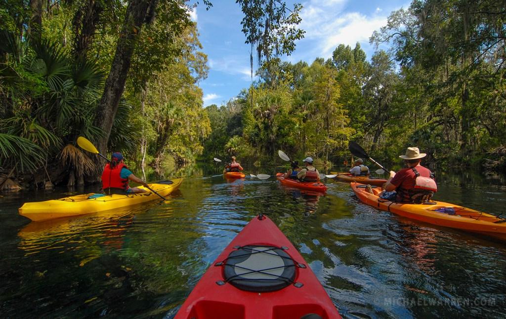 Silver River Florida Kayaking