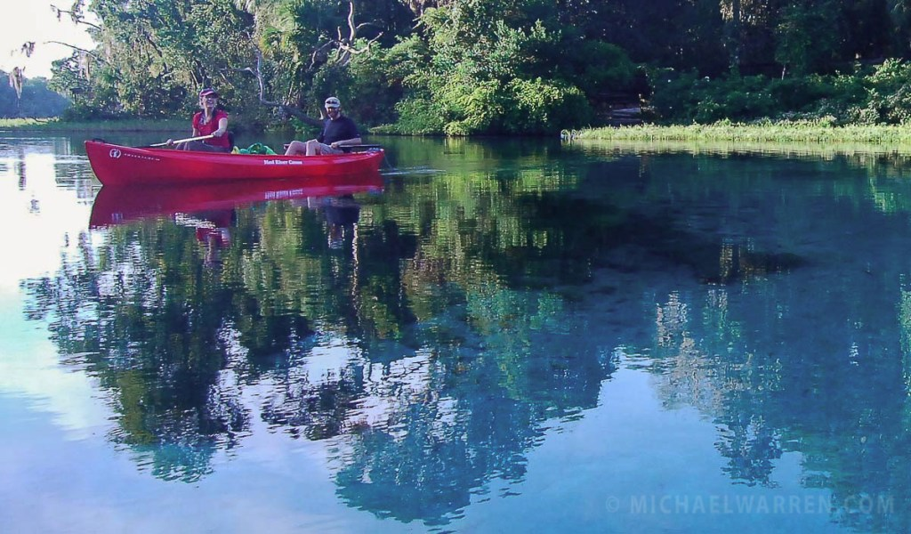 Kayaking Rainbow River