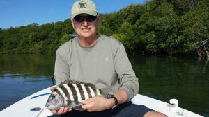 Catch Sheepshead in Islamorada with Captain Jacob