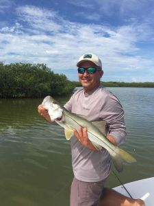 Snook in Islamorada with Captain Jacob