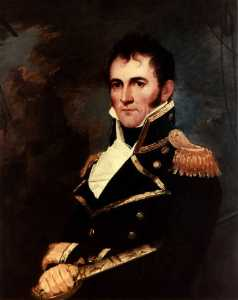 A portrait of Commodore David Porter. US NAVAL HISTORY AND HERITAGE COMMAND