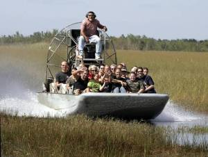 Everglades Commercial Airboat