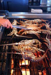 Lobster Grilling