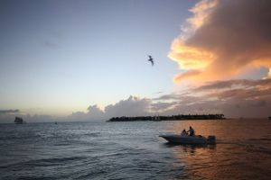 Florida Keys Sunsets are magical at Mallory Square in Key West. JIM BYERS PHOTO