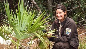 Kristie Killam, park ranger Key Deer