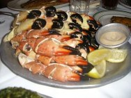 Stonecrab Claws eating contest