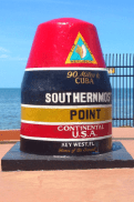 10 Things To Do in the Florida Keys with Teens - Visit the southernmost point in the continental US