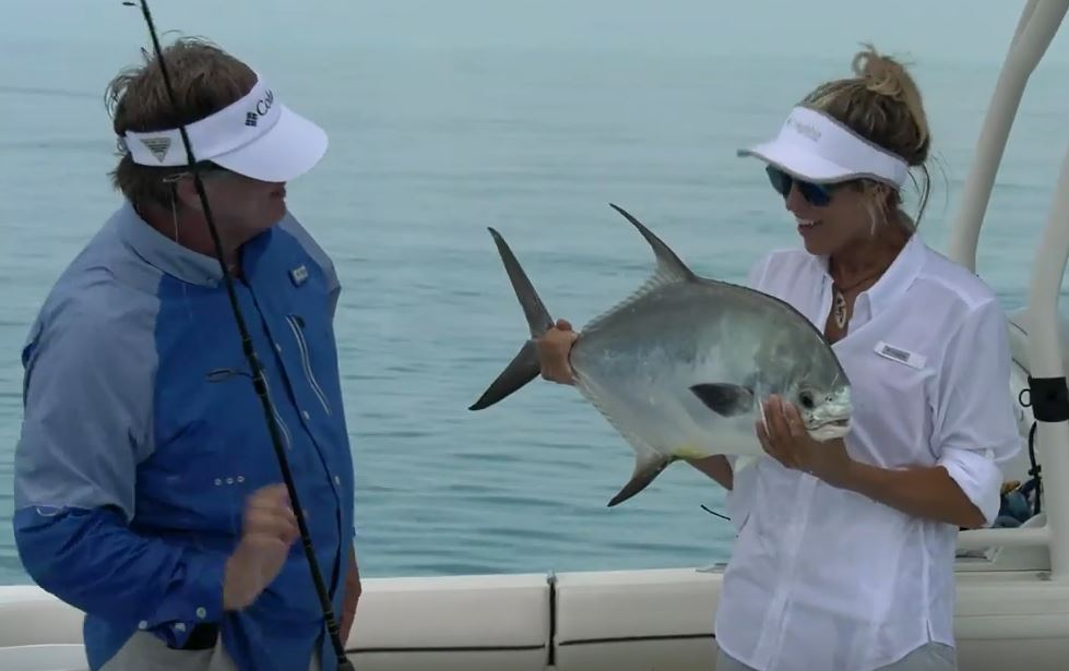 George Poveromo Takes Bri Andrassy Fishing in Key West Video