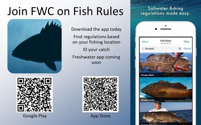 FWC Fishing Regulations Fish Rules App
