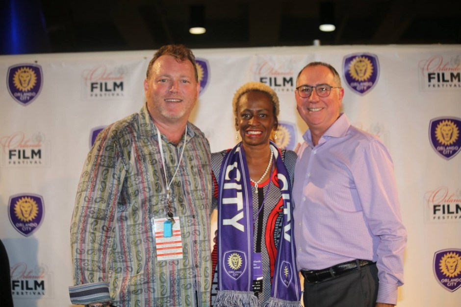 """District 5 Commissioner Regina Hill represents at the premiere of Orlando City Soccer's """"Making History"""" documentary during the 2015 Orlando Film Festival kickoff Wednesday. Photo: J. Willie David III/Florida National News"""