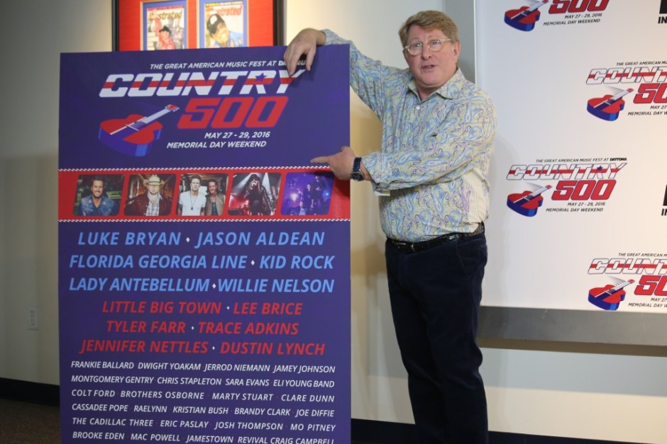 Country 500 Producer and Director Quinn Davis unveils the music festival's irresistible star-studded lineup. Photo: J. Willie David III/Florida National News