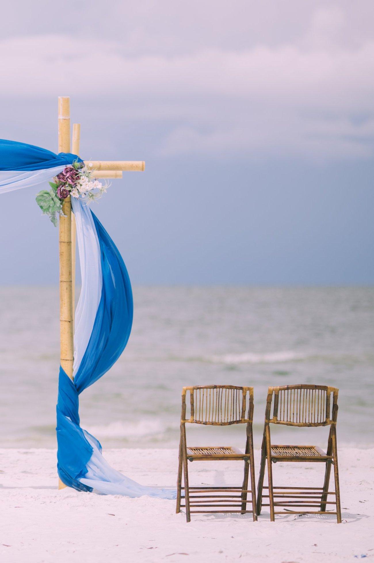 cheap-beach-wedding-fort-lauderdale-4 Deep Blue Wedding Arbor