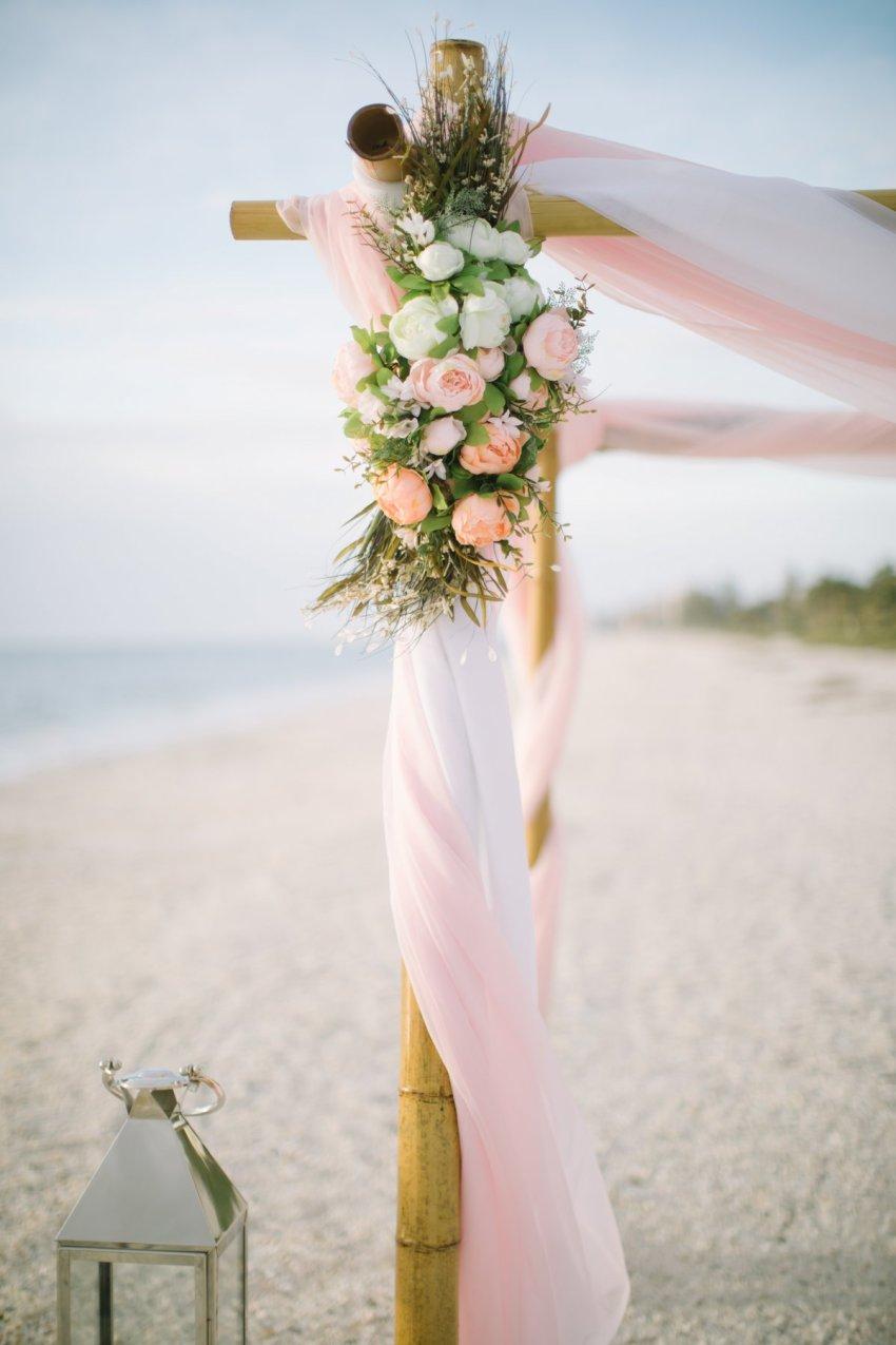 ft-myers-miami-fort-lauderdale-florida-beach-wedding-decoration-10 Artistic Pink Beach Wedding Decoration